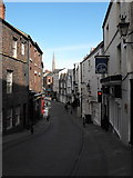 NZ2742 : Looking down Saddler Street, Durham by JThomas