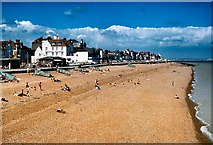 TR3752 : Deal Beach (north) by David Dixon