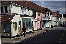 TM2749 : Theatre Street, Woodbridge by Julian Osley