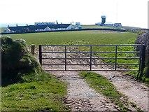 SM8003 : View towards St Ann's Head by Robin Drayton