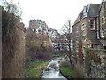 NT2473 : Water of Leith, Dean Village, Edinburgh by Malc McDonald