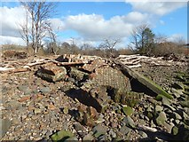 NS4572 : Ruins of minewatchers' post by Lairich Rig