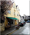 SO8609 : Olivas Delicatessen, Painswick by Jaggery