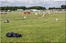 TQ2257 : Epsom Racecourse by Ian Capper