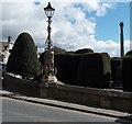 SO8609 : Jubilee lamp in Painswick by Jaggery