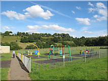 SE1321 : Carr Green recreation ground, Rastrick by Stephen Craven