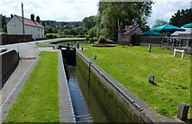 SO8483 : Kinver Lock on the Staffordshire & Worcestershire Canal by Mat Fascione
