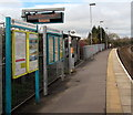 SS9768 : Information boards on Llantwit Major railway station by Jaggery