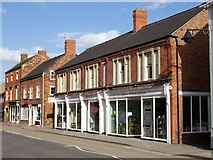 TF0920 : The Cliffe building in West Street, Bourne, Lincolnshire by Rex Needle