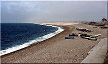SY6873 : Chesil Cove, Chiswell by Chris Andrews