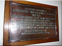 NY2623 : Keswick St John: memorial(4) by Basher Eyre