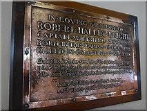NY2623 : Keswick St John: memorial (6) by Basher Eyre