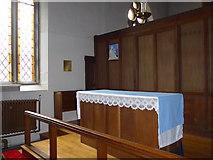 NY2623 : Inside Keswick St John (3) by Basher Eyre