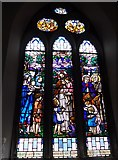 NY2623 : Keswick St John: stained glass window (8) by Basher Eyre
