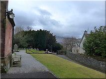 NY2623 : Keswick St John: churchyard  (3) by Basher Eyre