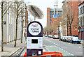 """J3373 : """"Belfast Bikes"""", Linenhall Street, Belfast (April 2015) by Albert Bridge"""