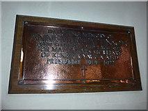 NY2623 : Keswick St John: memorial (9) by Basher Eyre