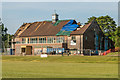 TQ2450 : Old Reigatians Rugby Club - arson attack by Ian Capper