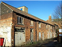 TF0920 : The old mineral water factory at Bourne, Lincolnshire by Rex Needle