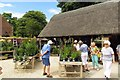 SP1742 : The Plant Centre at Hidcote Manor Gardens by Steve Daniels
