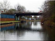 SJ7996 : Bridgewater Canal:  Euroterminal Bridge by Dr Neil Clifton