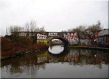 SJ8297 : Bridgewater Canal:  Cornbrook Road Bridge No 97 by Dr Neil Clifton