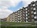 TQ4574 : Linsted Court, Restons Crescent, Eltham by Stephen Craven