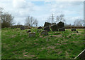 SK6630 : A jumble of headstones by Alan Murray-Rust