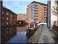 SJ8598 : Ashton Canal:  Ducie Street mooring by Dr Neil Clifton