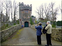 D3115 : Picturing The Barbican of Glenarm Castle by Kenneth  Allen