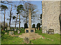 TG3202 : The War Memorial at Ashby St. Mary's church by Adrian S Pye