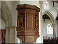 TG1728 : War Memorial in Blickling church by Adrian S Pye