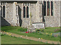 TM2893 : The War Memorial at Bedingham church by Adrian S Pye