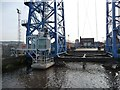 NZ4921 : Ferry Road ending at the Transporter Bridge by Christine Johnstone