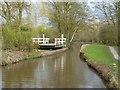 SJ9170 : Macclesfield Canal:  Broadhurst Swing Bridge No 47 by Dr Neil Clifton