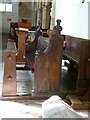 SK6929 : Church of St Luke, Hickling by Alan Murray-Rust