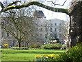 TQ2882 : The Crescent Gardens within Park Crescent by Marathon