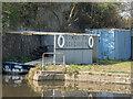 TQ3592 : London Sea Cadets Premises, River Lee Navigation, London N18 by Christine Matthews