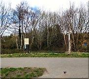 SJ9694 : Green Lane footpath junction by Gerald England