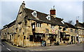 SP0228 : Corner view of the Corner Cupboard Inn, Winchcombe by Jaggery