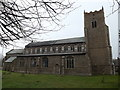 TM0567 : St.Mary's Church, Bacton by Adrian Cable