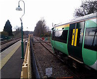 TQ3837 : Network Rail stops here by Roger W Haworth
