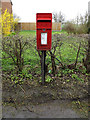 TM0365 : Bacton Green Postbox by Adrian Cable