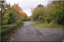 SU6252 : Access road for allotments by Given Up
