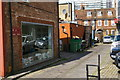 TQ3264 : Access alley off Spices Yard, South End, Croydon by Christopher Hilton