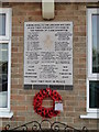 TF5820 : Memorial to six wartime plane crashes at Clenchwarton by Adrian S Pye