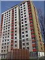 NS5068 : Yoker tower blocks by Stanley Howe