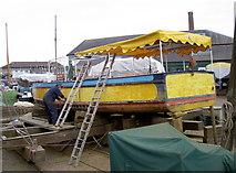 ST5772 : Ship shape and... by Neil Owen