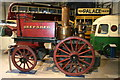 SK4114 : Snibston Discovery Museum - steam fire engine by Chris Allen
