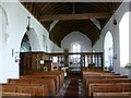 TR0266 : Interior of St Thomas Church, Harty by Marathon